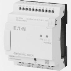 Sterownik 12/24VAC/DC 8 wejść cyfrowych (4 analogowe) 4 wyjścia przekaźnikowe EASY-E4-UC-12RCX1 Eaton