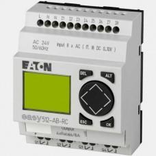 Sterownik 8 wejść cyfrowych oraz 4 wyjść przekaźnikowych EASY512-AB-RC Eaton