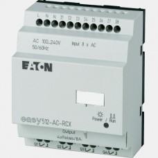 Sterownik 8 wejść binarnych oraz 4 wyjść przekaźnikowych EASY512-AC-RCX Eaton