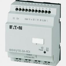 Sterownik 8 wejść oraz 4 wyjść cyfrowych 8A EASY512-DA-RCX Eaton