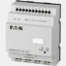 Sterownik 8 wejść oraz 4 wyjść binarnych EASY512-DC-RCX Eaton