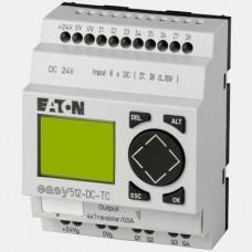 Sterownik 8 wejść cyfrowych oraz 4 wyjść tranzystorowych EASY512-DC-TC Easy 500 Eaton