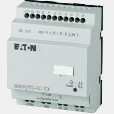 Sterownik 8 wejść binarnych oraz 4 wyjść tranzystorowych EASY512-DC-TCX Eaton