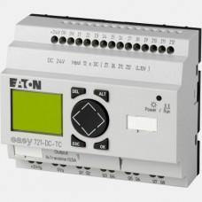 Sterownik 12 wejść cyfrowych i 8 wyjść tranzystorowych Eaton EASY721-DC-TC