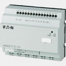 Sterownik 12 wejść cyfrowych oraz 8 wyjść tranzystorowych Eaton EASY721-DC-TCX