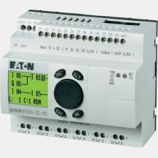 Sterownik 12 wejść cyfrowych i 6 wyjść przekaźnikowych Eaton EASY820-DC-RC