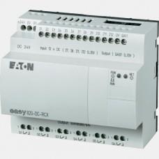 Sterownik 12 wejść cyfrowych i 6 wyjść przekaźnikowych Eaton EASY820-DC-RCX
