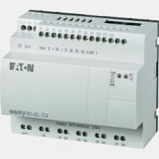 Sterownik 12 wejść cyfrowych i 8 wyjść tranzystorowych Eaton EASY821-DC-TCX