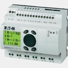 Sterownik 12 wejść cyfrowych oraz 8 wyjść tranzystorowych Eaton EASY822-DC-TC