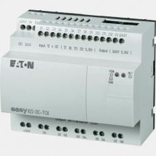 Sterownik 12 wejść cyfrowych oraz 8 wyjść tranzystorowych Eaton EASY822-DC-TCX