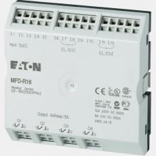 Moduł 12 wejść cyfrowych oraz 4 wyjść przekaźnikowych Eaton MFD-R16