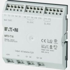 Moduł 12 wejść cyfrowych oraz 4 wyjść tranzystorowych Eaton MFD-T16