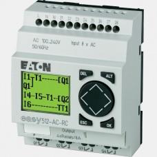 Sterownik 8 wejść cyfrowych oraz 4 wyjść przekaźnikowych EASY512-AC-RC Eaton