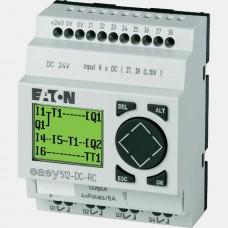 Sterownik 8 wejść cyfrowych oraz 4 wyjść binarnych EASY512-DC-RC Eaton