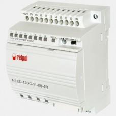 Sterownik PLC 8 wejść i 4 wyjścia przekaźnikowe NEED-12DC-11-08-4R Relpol