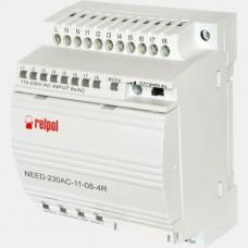 Sterownik PLC 8 wejść i 4 wyjścia przekaźnikowe NEED-230AC-11-08-4R Relpol