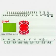 Sterownik PLC 16 wejść i 8 wyjść tranzystorowych NEED-24DC-22-16-8T-D Relpol