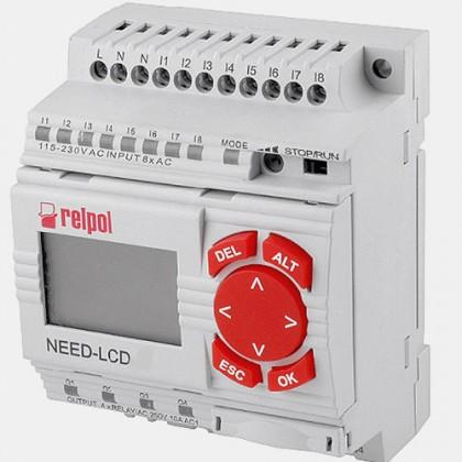 Sterownik 8 wejść i 4 wyjść przekaźnikowych NEED-24VDC-22-8-4R-D Relpol
