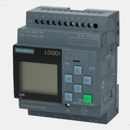 Sterownik PLC 6ED1052-1CC08-0BA1 LOGO! 8.3 12/24CE Siemens