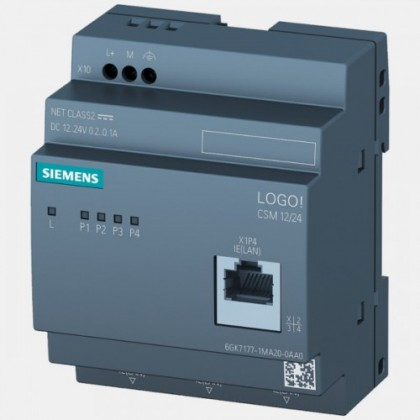 Switch Ethernet LOGO! CSM 12/24 Siemens 6GK7177-1MA20-0AA0
