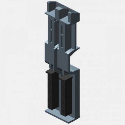 Listwa montażowa SIMATIC S7-1500 Siemens 6ES7590-0AA00-0AA0
