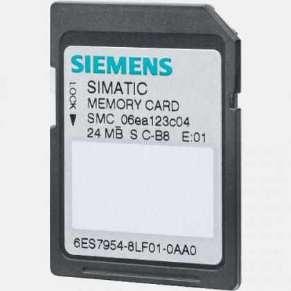 Karta pamięci SIMATIC S7-1500/S7-1200 24 MB Siemens 6ES7954-8LF02-0AA0