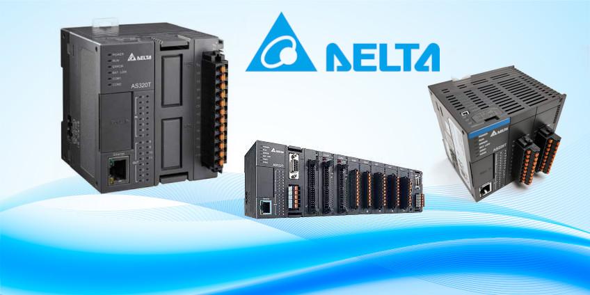 Sterowniki serii AS200/AS300 producenta Delta Electronics
