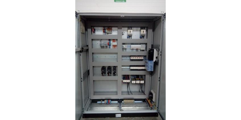 Sterownik PLC w myjni przemysłowej recyklingu